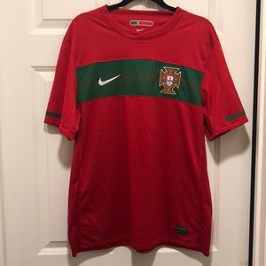Nike Portugal National Team Soccer Jersey